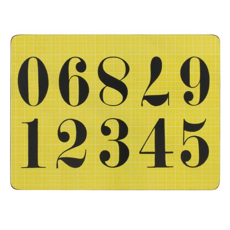 Eames/イームズ ランチョンマット 6枚組  6柄のトレーのセットです。柄1