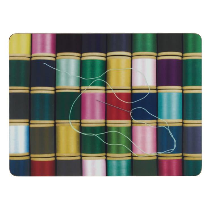 Eames/イームズ ランチョンマット 6枚組  柄5 糸巻きデザイン