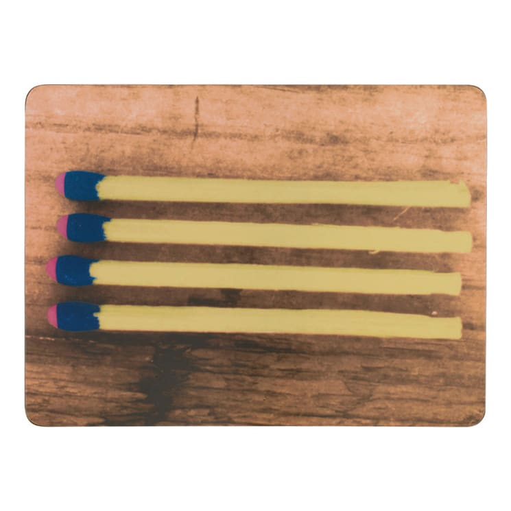 Eames/イームズ ランチョンマット 6枚組  柄6 マッチデザイン