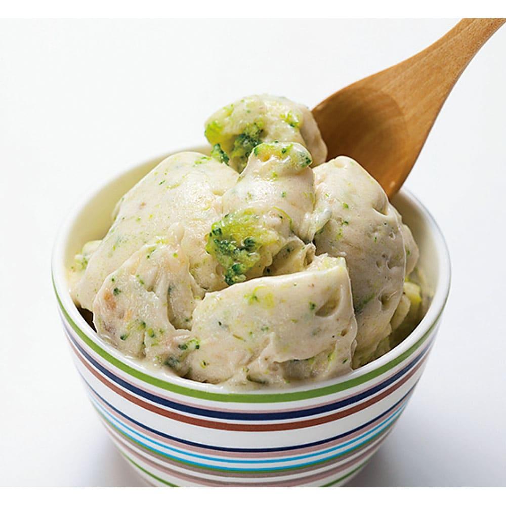 ドール ヨナナスメーカー(DOLE YONANAS) ブロッコリーや人参などの野菜も冷凍して使えます。果物と混ぜると野菜入りとは分からない美味しさ!