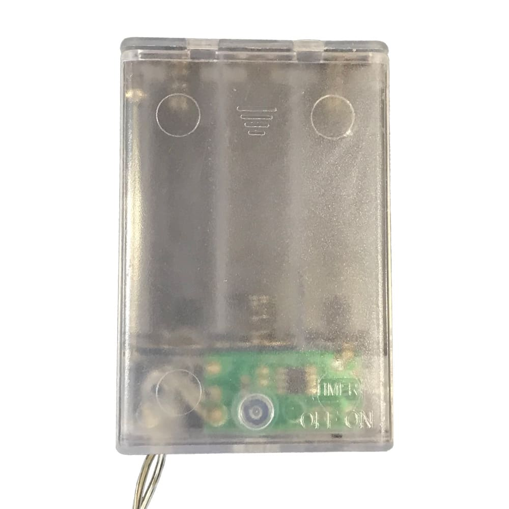 LEDライト ガーランド(電池式) スイッチ部分
