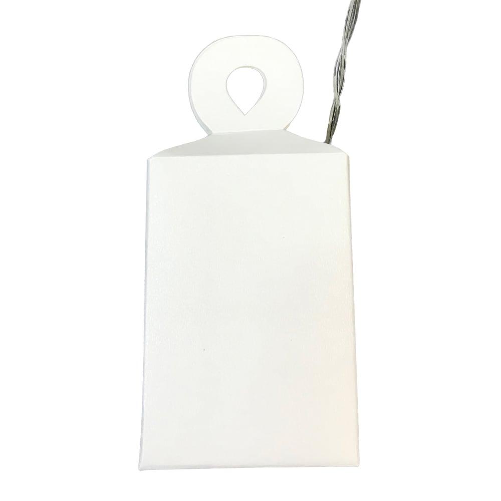 LEDライト ガーランド(電池式) スイッチ部分を吊り下げてご使用の場合は付属の紙の袋に入れて引っ掛けてご使用ください。
