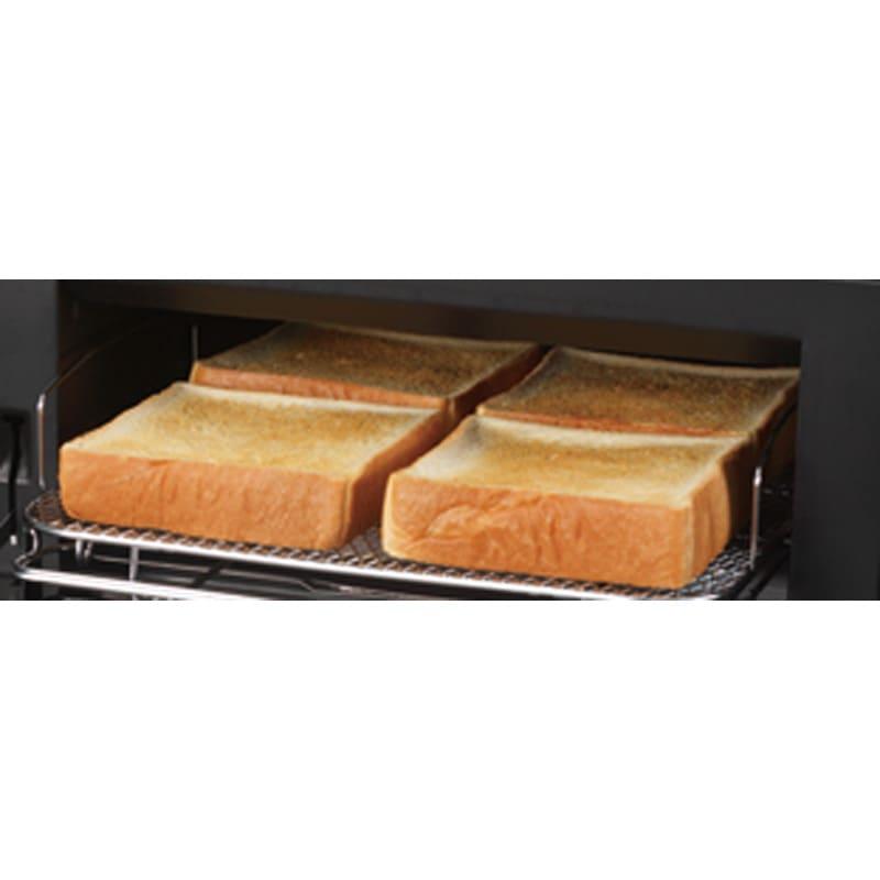 燻製もできるコンベクショントースター ディノス特典トレー付き パンなら一度に4枚焼けます!