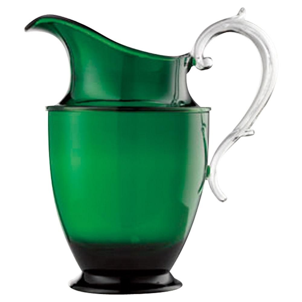 MARIOLUCA/マリオルカ 樹脂製のグラスシリーズ ピッチャー1個 (イ)グリーン 売り切れ