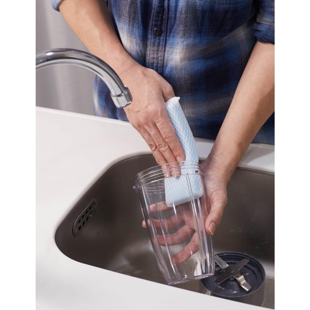 ニュートリブレット プロ NUTRIBULLET PRO カップは軽いので簡単に丸洗いできます