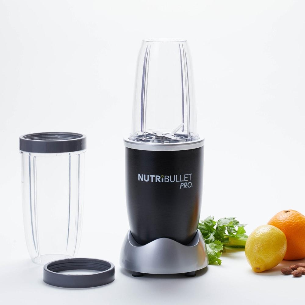 ニュートリブレット プロ NUTRIBULLET PRO レギュラーカップとトールカップの2つが付属します。グレーのリングはそのままカップから直接飲むときに使用してください。