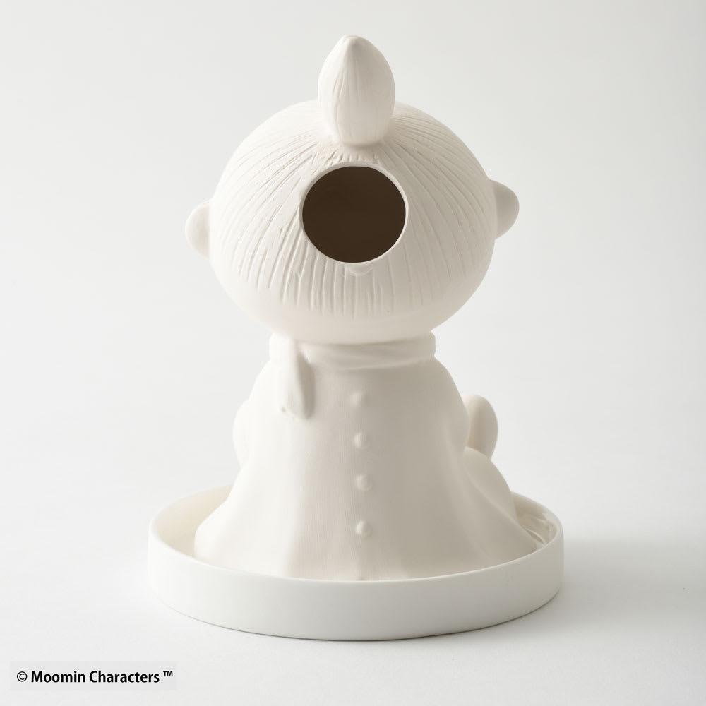 ムーミン パーソナル気化式加湿器     (ウ)リトルミイ 背面