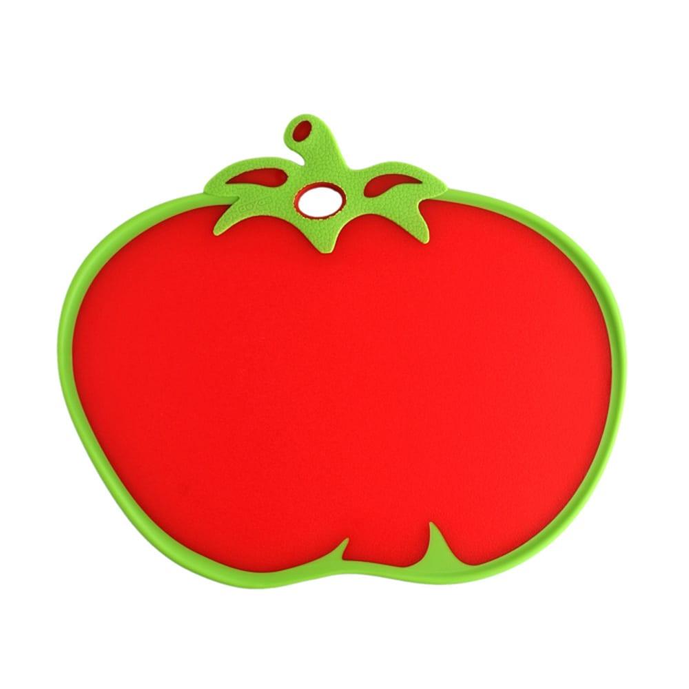 DEXAS カッティングボード フルーツ型のまな板 ア)トマト