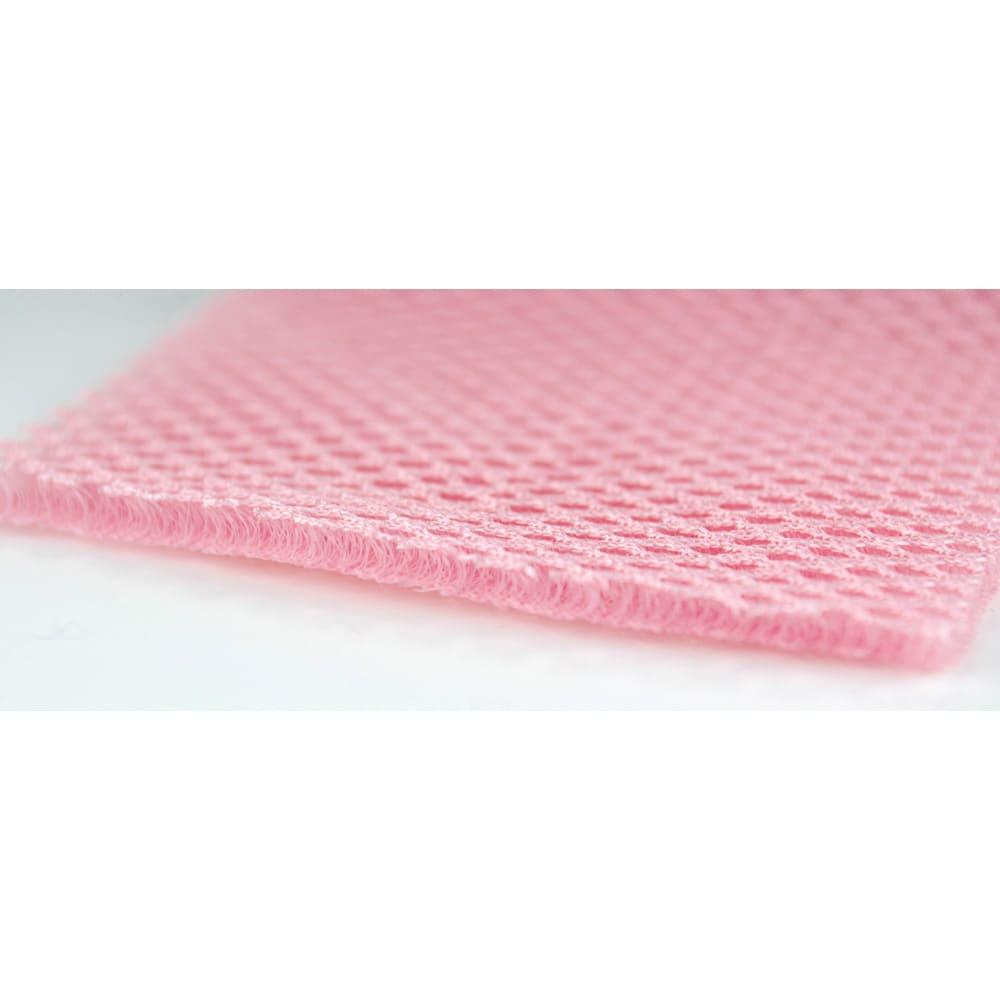アニマルランジェリーネット 洗濯ネット 洗濯中のダメージから守る為、ハリのある3層肉厚メッシュを採用。