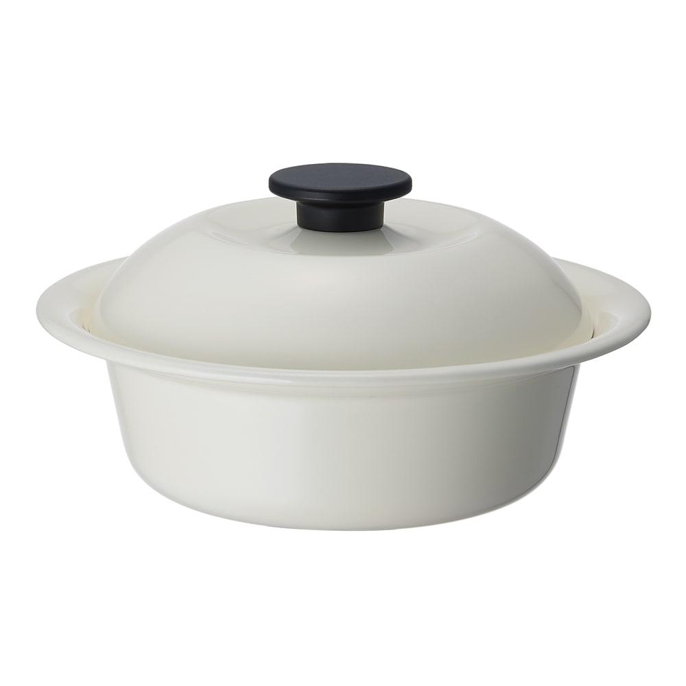 キッチン 家電 鍋 調理器具 土鍋 野田ホウロウ ココナベ 大 WW1390