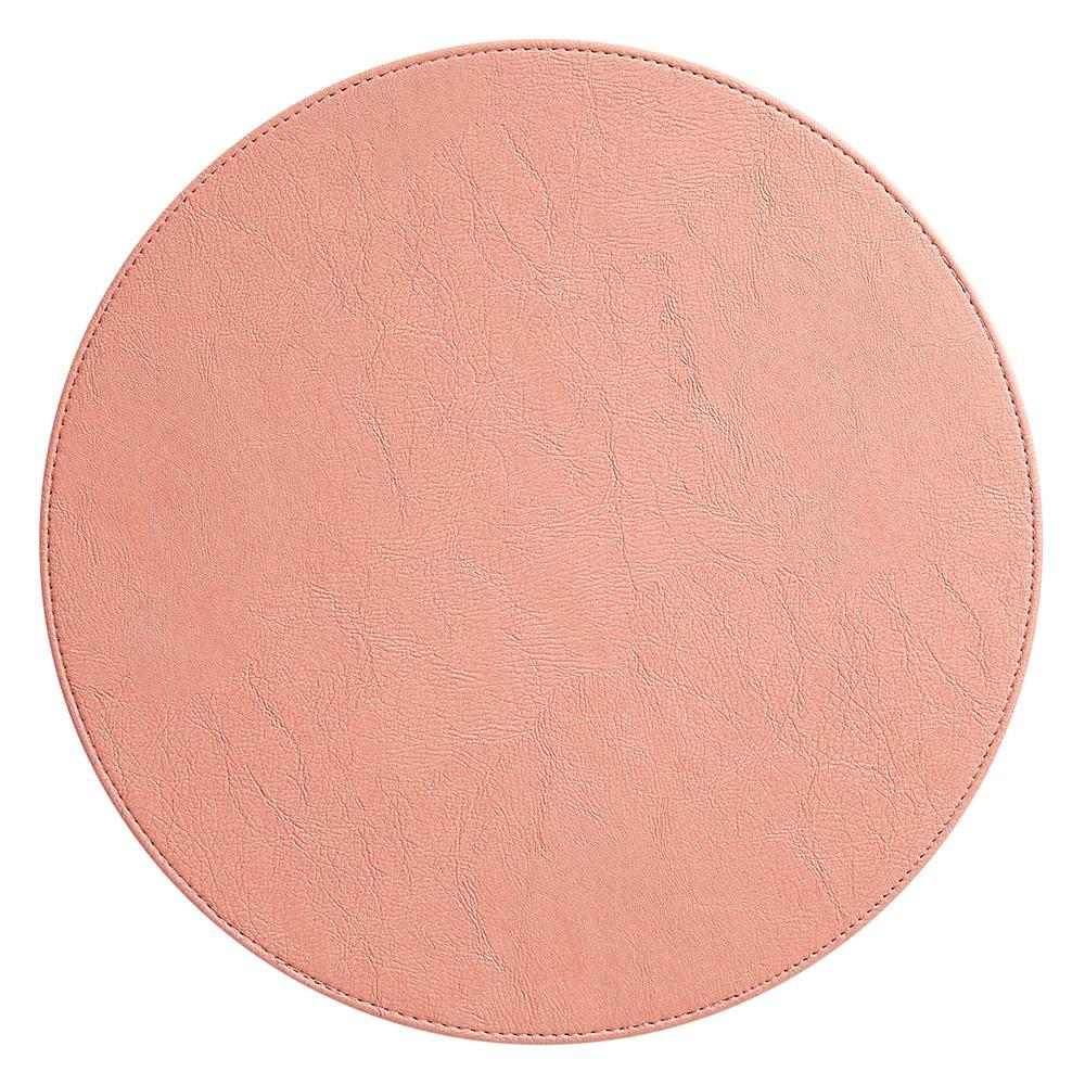リバーシブルの丸形ランチョンマット 表面