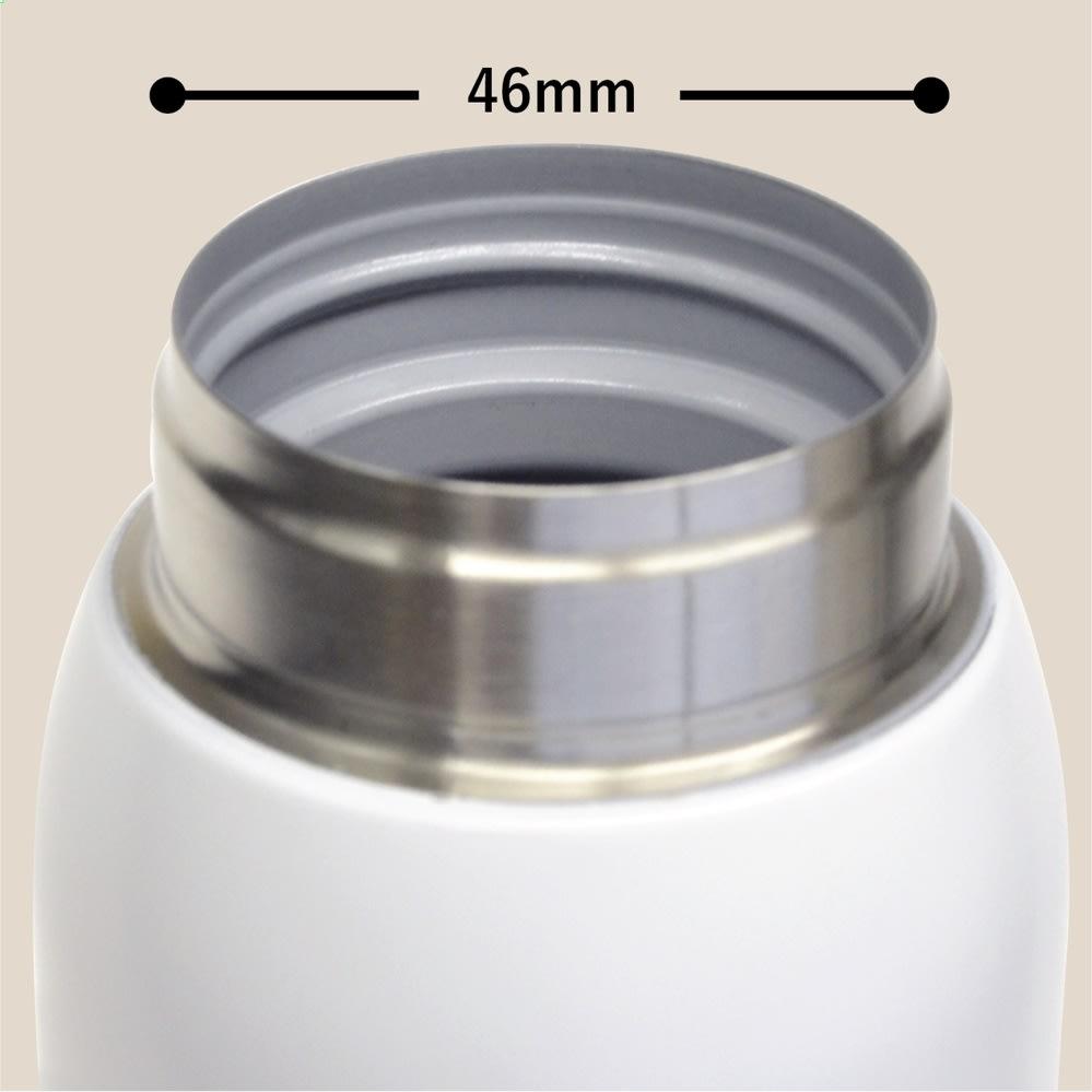 イニック×カフア コーヒーボトル 190ml 飲み口はコーヒーの香りを楽しめるように大きめ設計