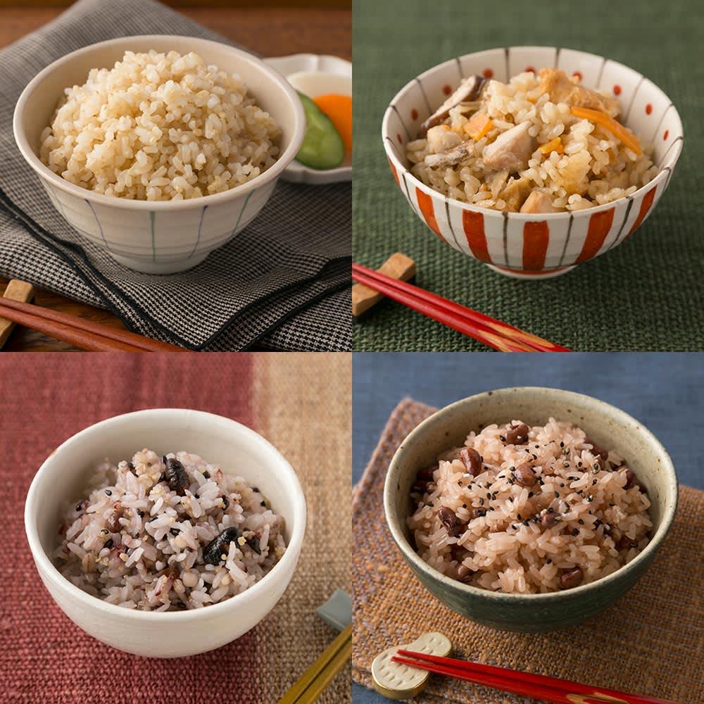 ミニライスクッカー 0.5~2合が炊飯できます! 玄米も炊き込みご飯も!