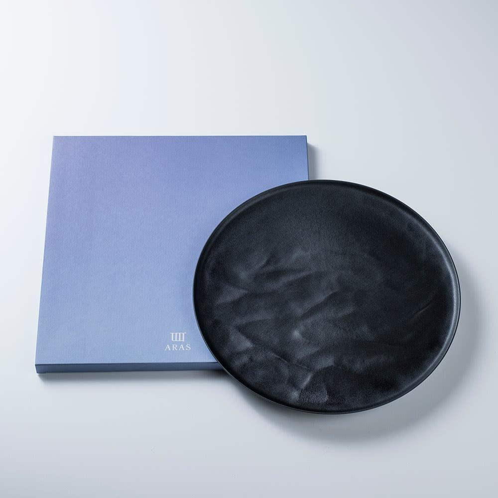 ARAS お皿27.5cm ウェーブ 割れないお皿 箱入りなのでギフトにもぴったり。