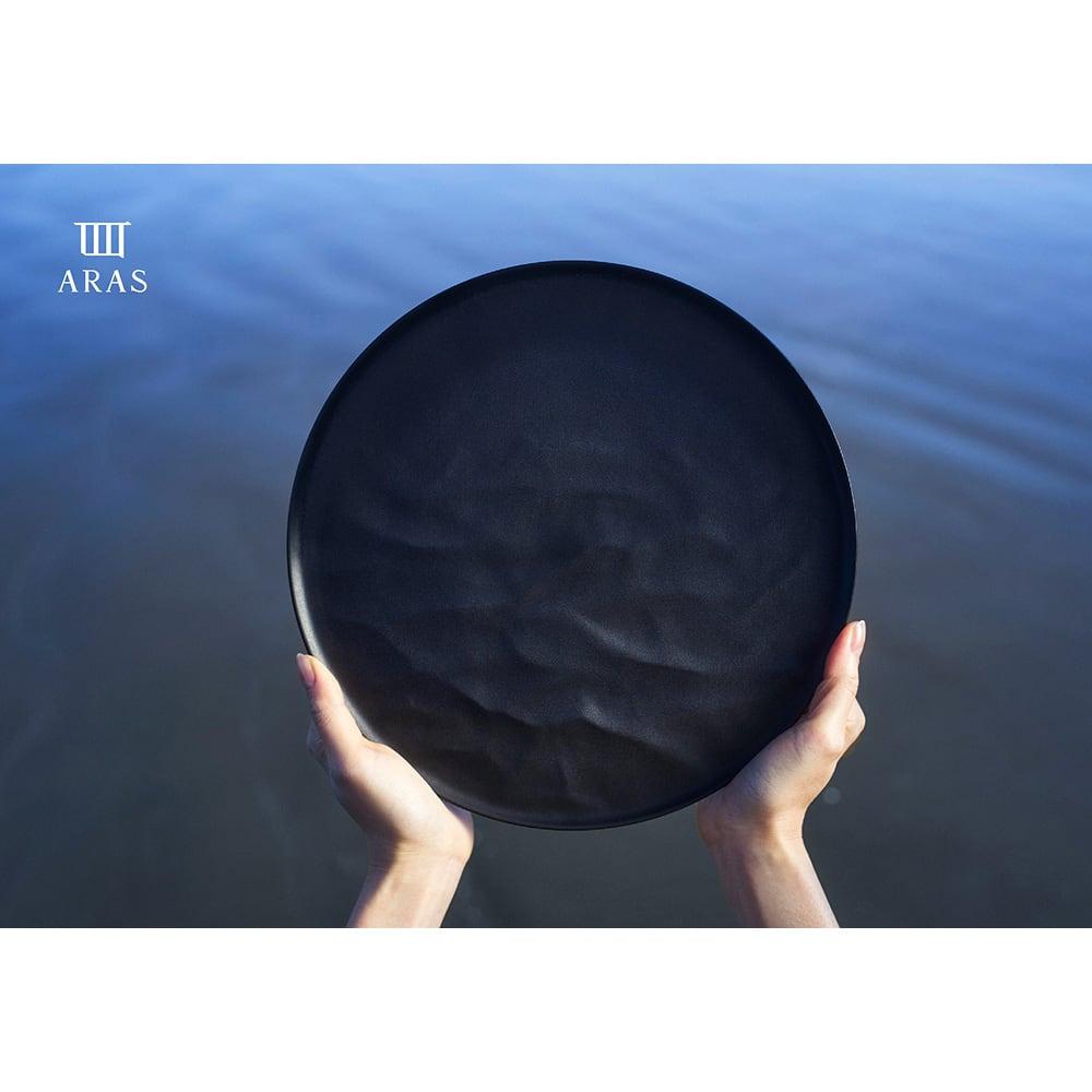 ARAS お皿27cm モアレ 割れないお皿 ※写真はウェーブタイプです。