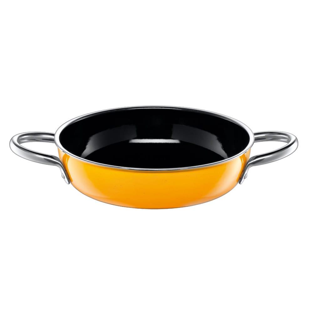 シリット Silit シラルガン コンビクック 10年保証付き フタにもなる浅鍋(フライパン)。内寸19,2深さ4,5cm 満水容量1200ミリリットル