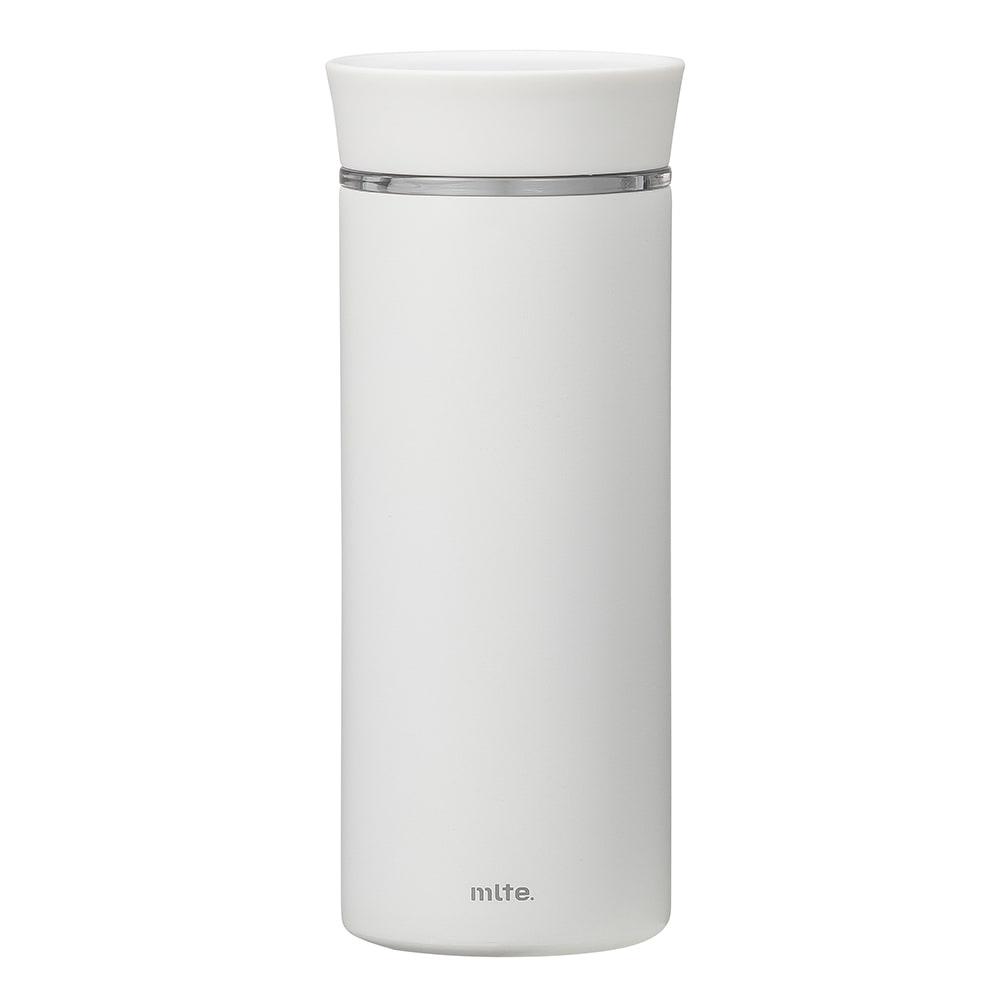 mlte EL Bottle 350  内側フッ素で使いやすいマグボトル ア)ホワイト