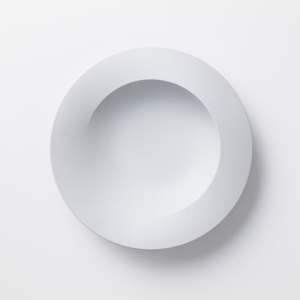 ARAS 深皿スクープ 割れない深皿 (ア)ホワイト