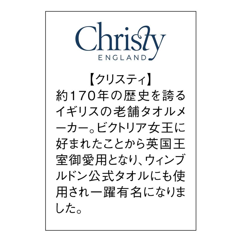 Christy/クリスティ  フェイスタオル 1枚