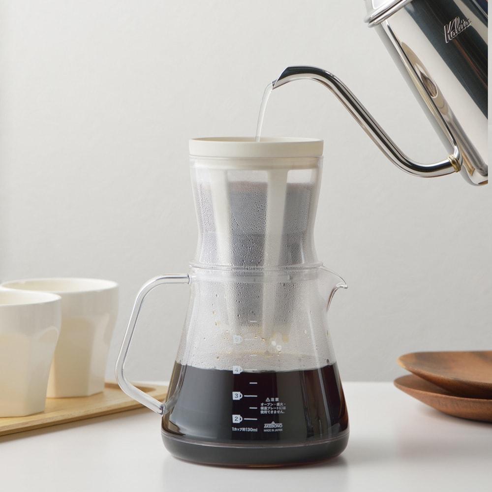キッチン 家電 鍋 調理器具 コーヒードリッパー コーヒー用品 コーヒーサーバーストロン2WAドリッパー WW1264