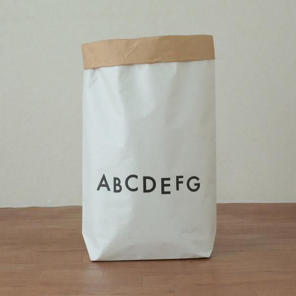 日本のお米屋さんが作った北欧風ペーパーバッグ (イ)ALPHABET 表
