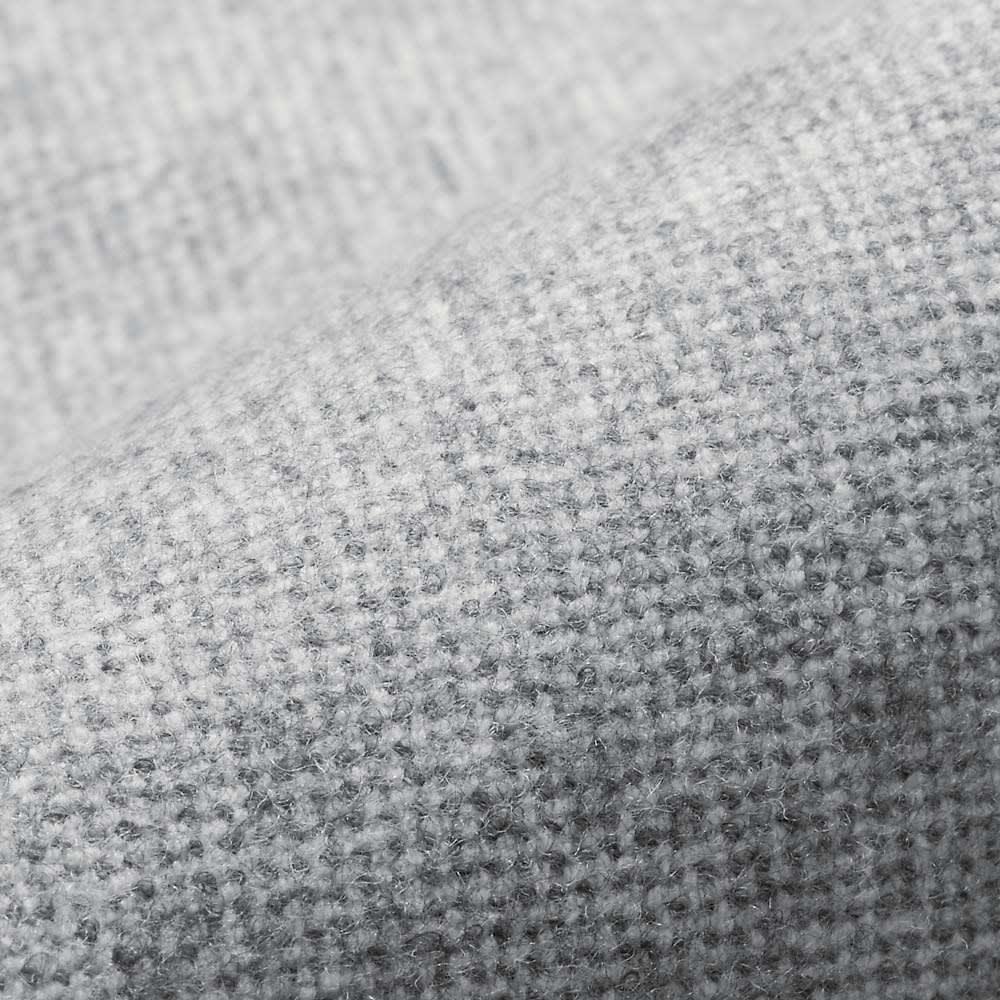 2ウェイストレッチ起毛クロップトパンツ (イ)ライトグレー 素材アップ