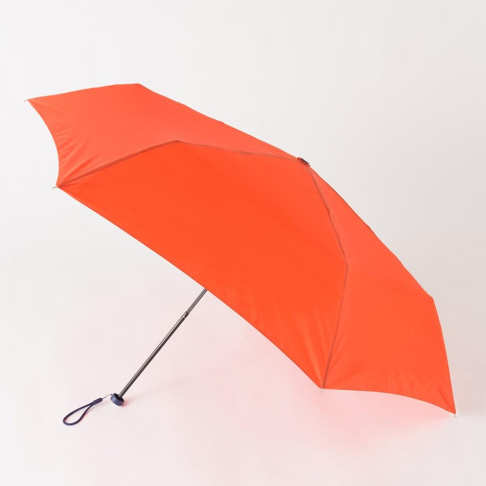 フロータス 高撥水軽量折畳傘 55cm (エ)オレンジ