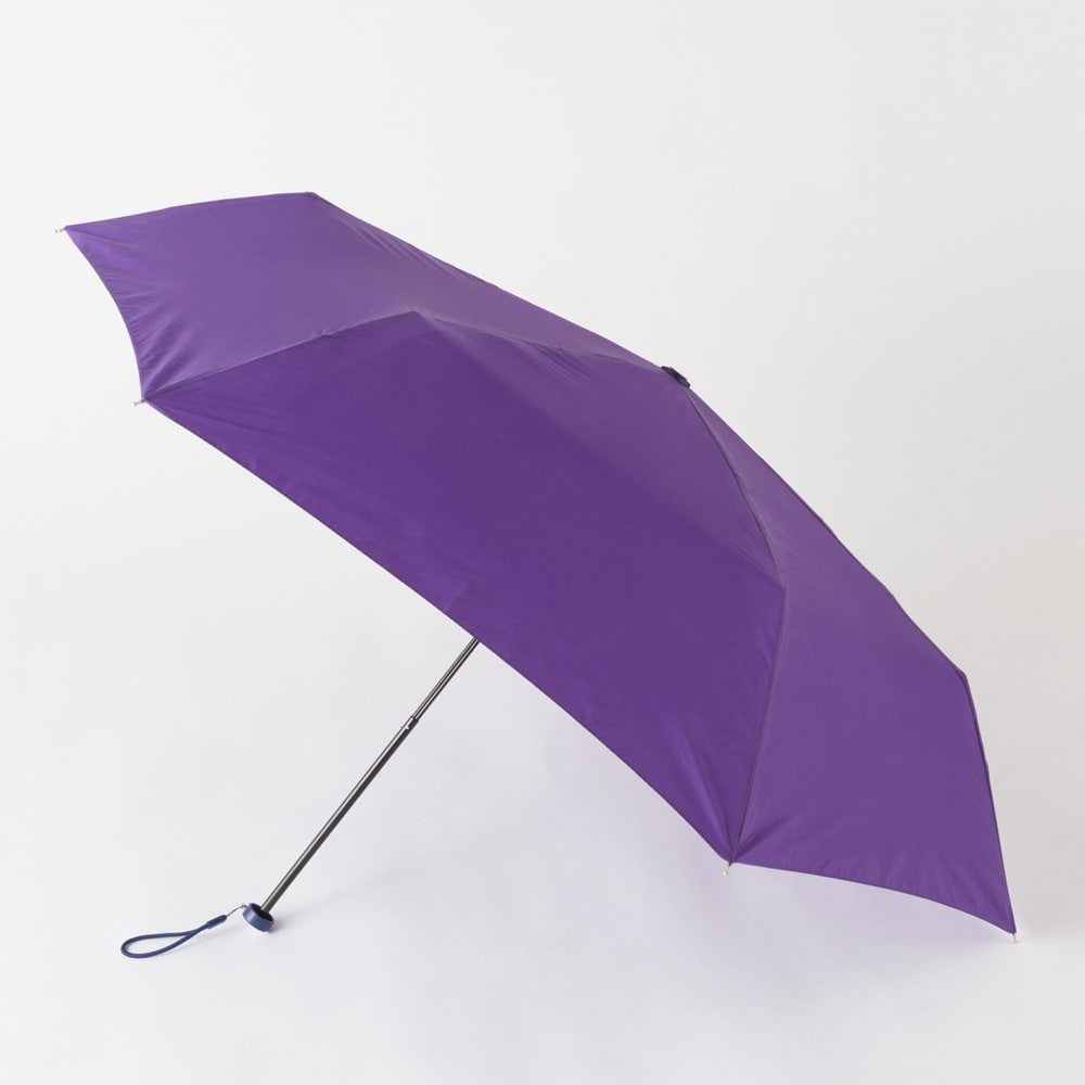 フロータス 高撥水軽量折畳傘 55cm (オ)パープル