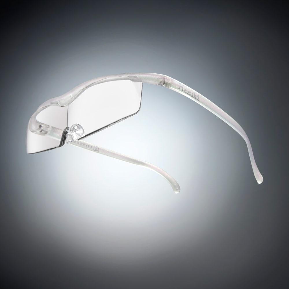 眼鏡型拡大鏡 ハズキルーペ コンパクト 1.6(ブルーライトカット 35% クリアレンズ) (エ)パール