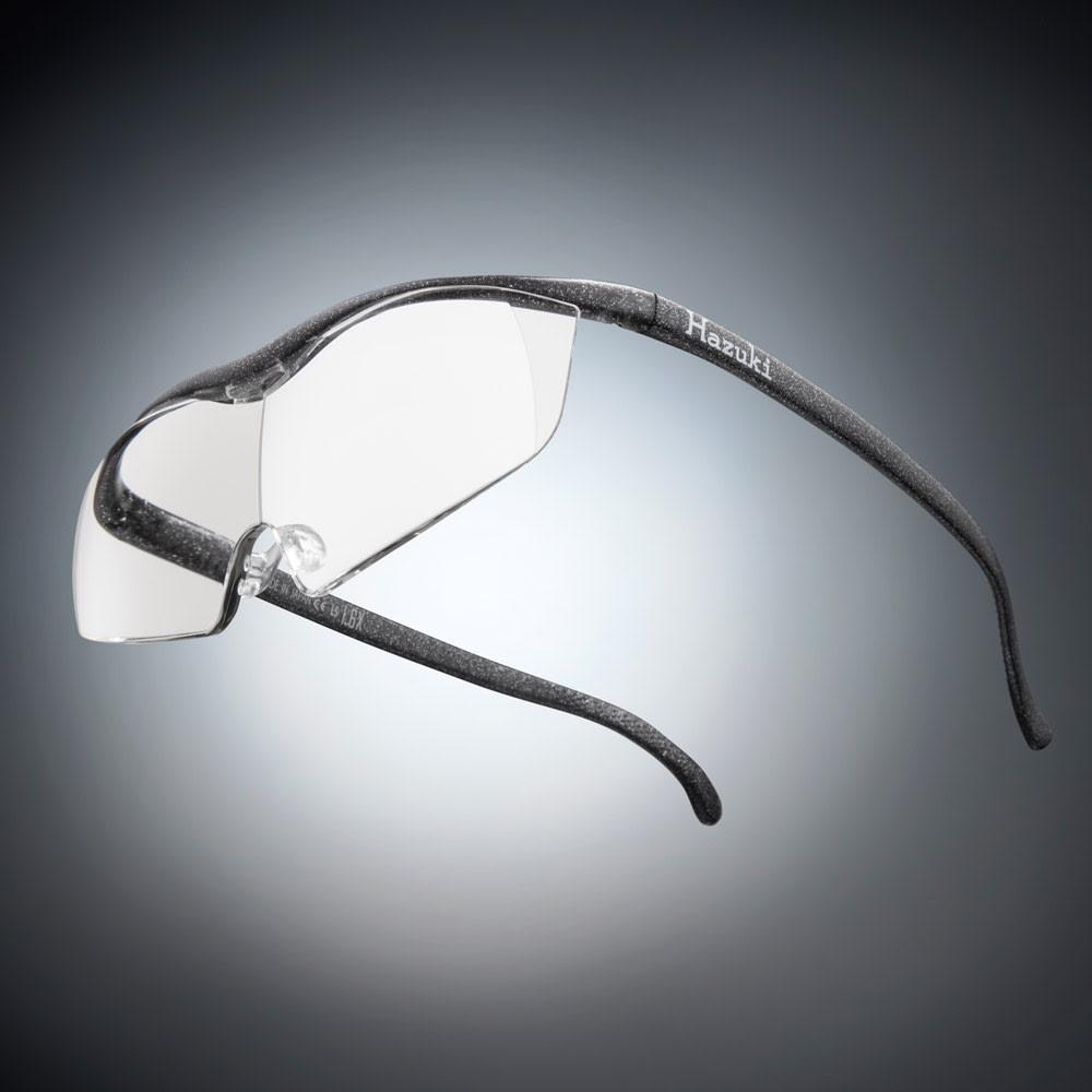 眼鏡型拡大鏡 ハズキルーペラージ1.6(ブルーライトカット55% カラーレンズ) (エ)ブラックグレー※フレーム色見本