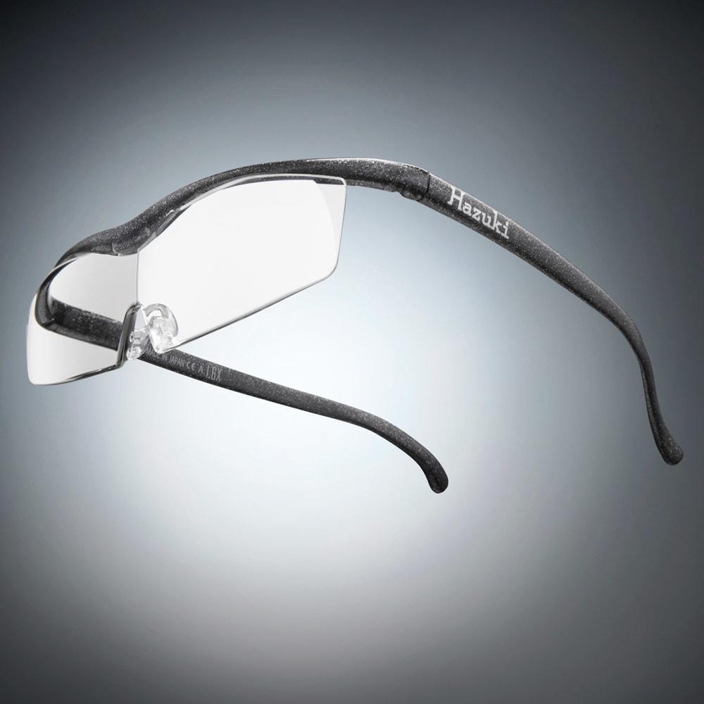 眼鏡型拡大鏡 ハズキルーペコンパクト1.6(ブルーライトカット55% カラーレンズ) (エ)ブラックグレー
