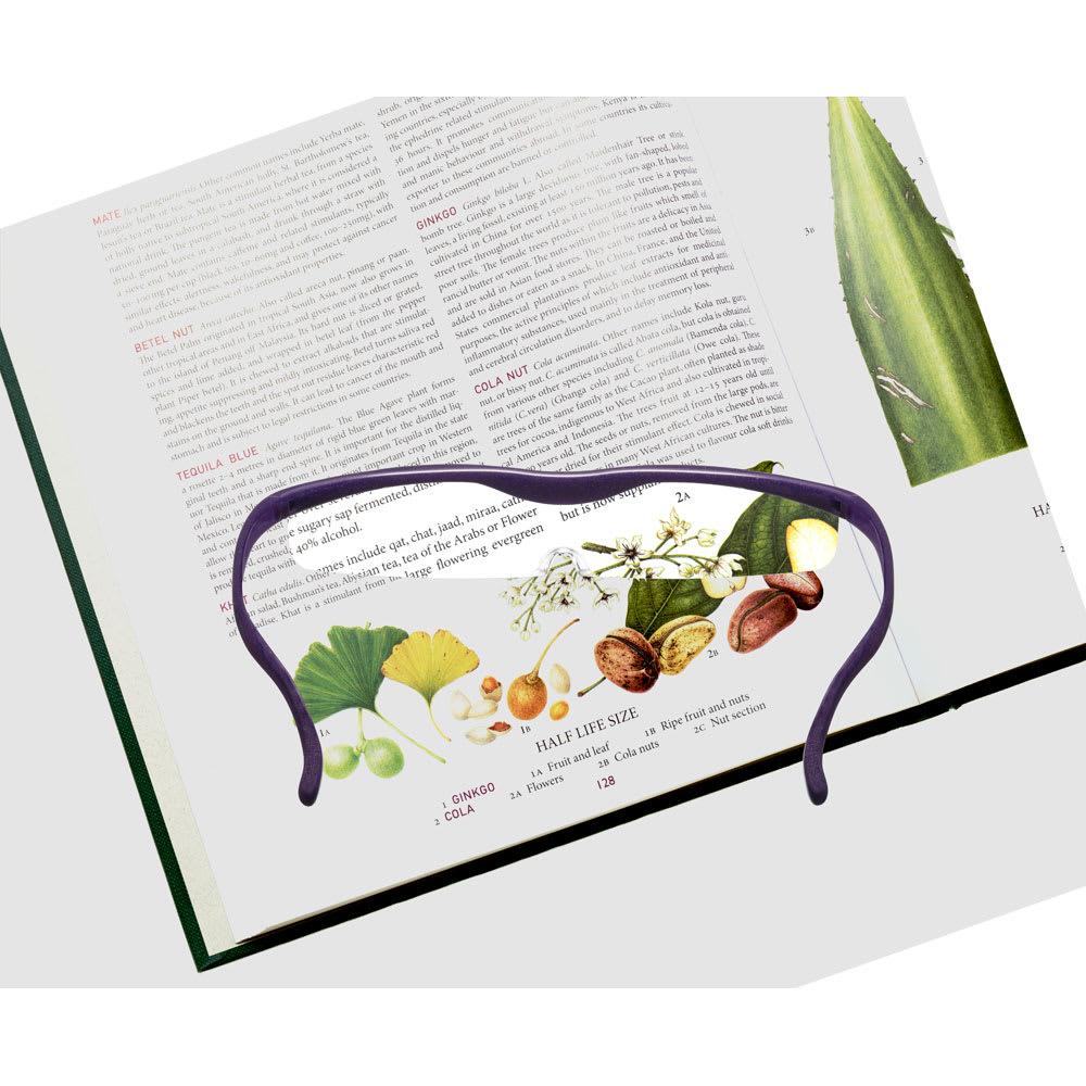 眼鏡型拡大鏡 ハズキルーペクール1.6(ブルーライトカット55% カラーレンズ)