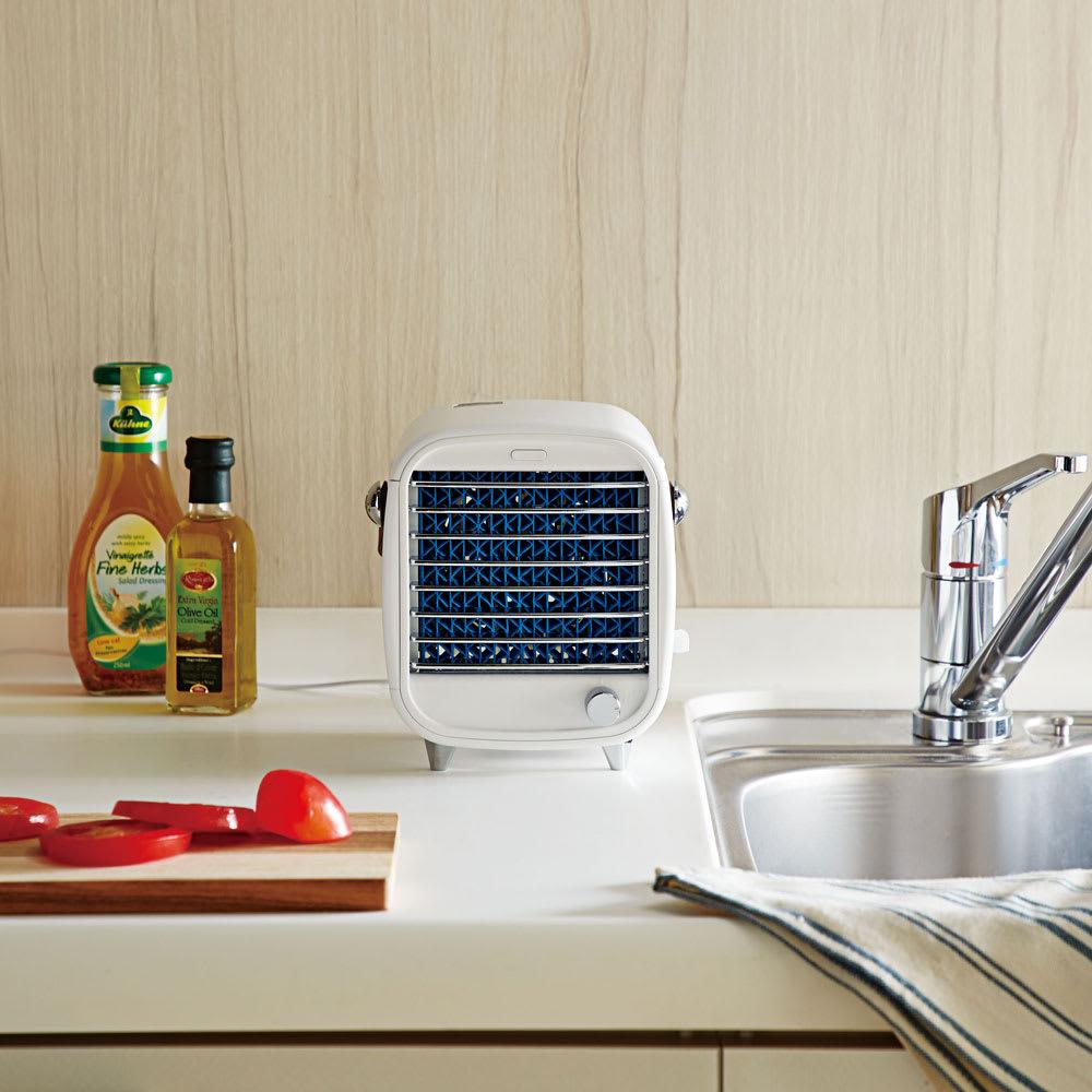 ICEエアーキューブ 涼しや 熱気がこもりがちなキッチンに。