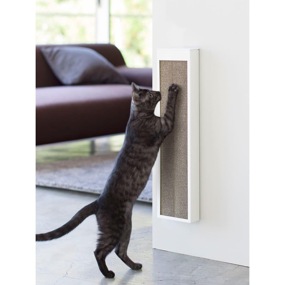 猫の爪とぎケース タワー