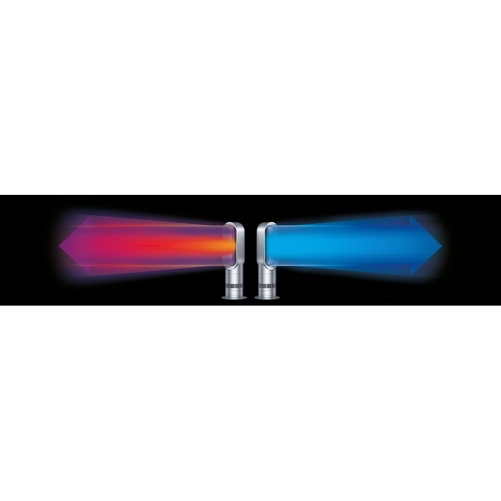 dyson/ダイソン hot&cool(暖房&扇風機) AM09 冬はヒーターとしてより早く、均一に部屋を暖め、夏は扇風機として使えます。より早く、均一に部屋を暖める、ジェットフォーカステクノロジーを新たに搭載。