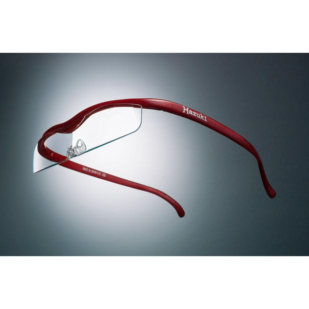 HAZUKI 眼鏡型拡大鏡 ハズキルーペクール1.6(ブルーライトカット35% クリアレンズ) レディース パープル クール~クール サングラス・眼鏡