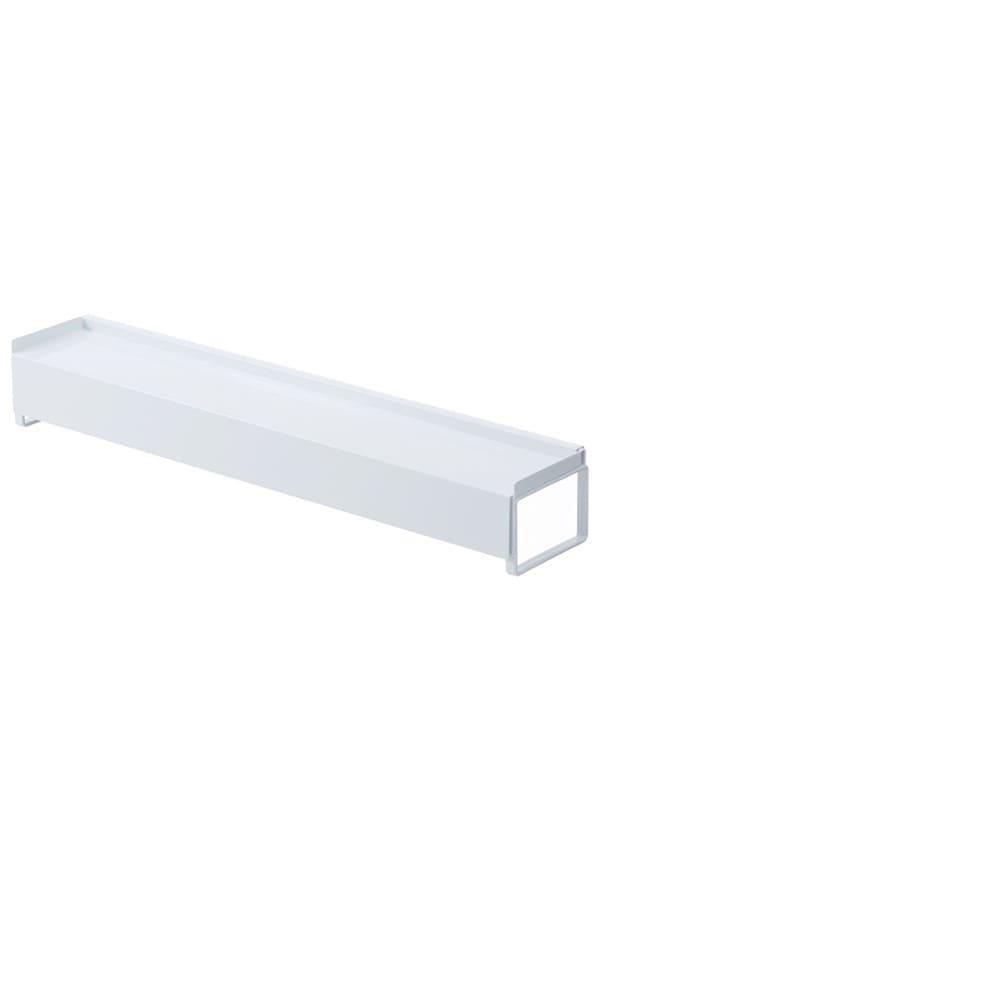 棚付き伸縮排気口カバータワー ホワイト・通常時