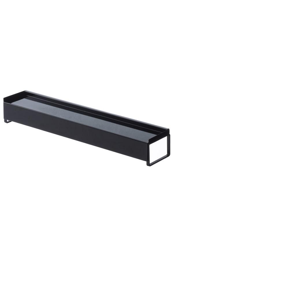 棚付き伸縮排気口カバータワー ブラック・通常時