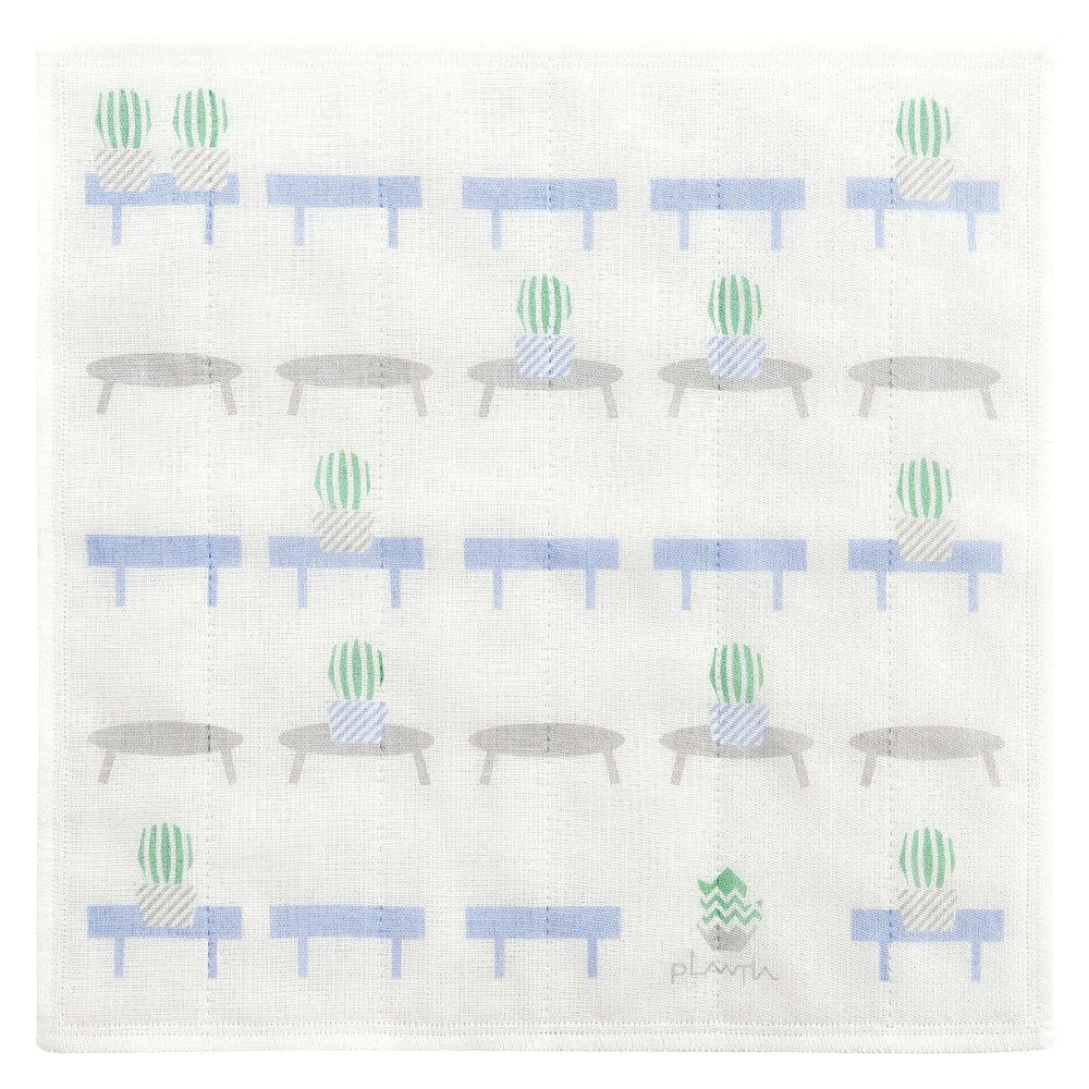奈良でつくった かや生地ふきん8枚セット CHOUWA = ちょうわ/調和。1枚目が綿、残り6枚がレーヨンの7枚合わせ。