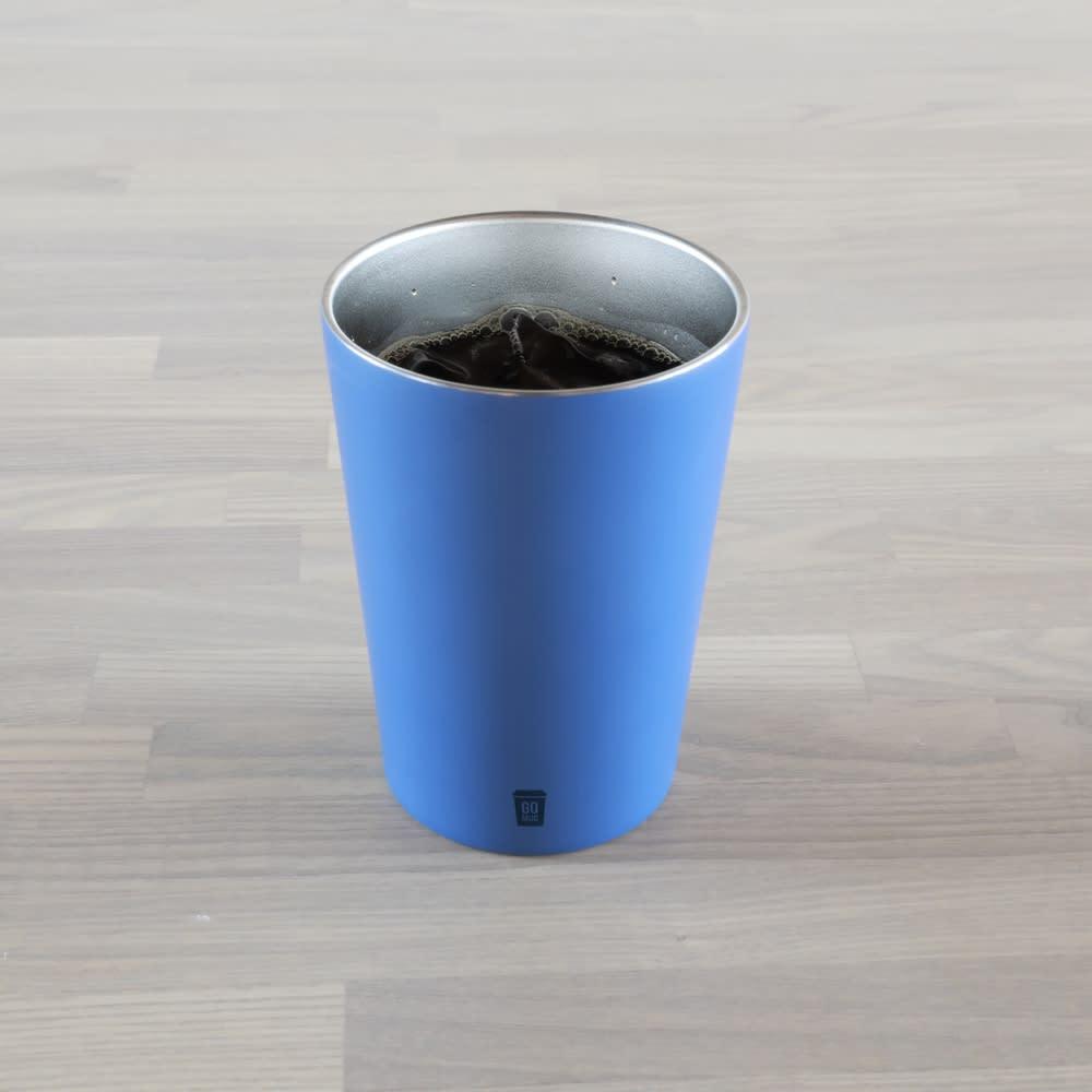 真空2層構造ステンレス保温マグ「GOMUG」 Mサイズ(460ml) 直接コーヒーやお茶など、飲み物を注いで保温マグとしてもご使用いただけます。