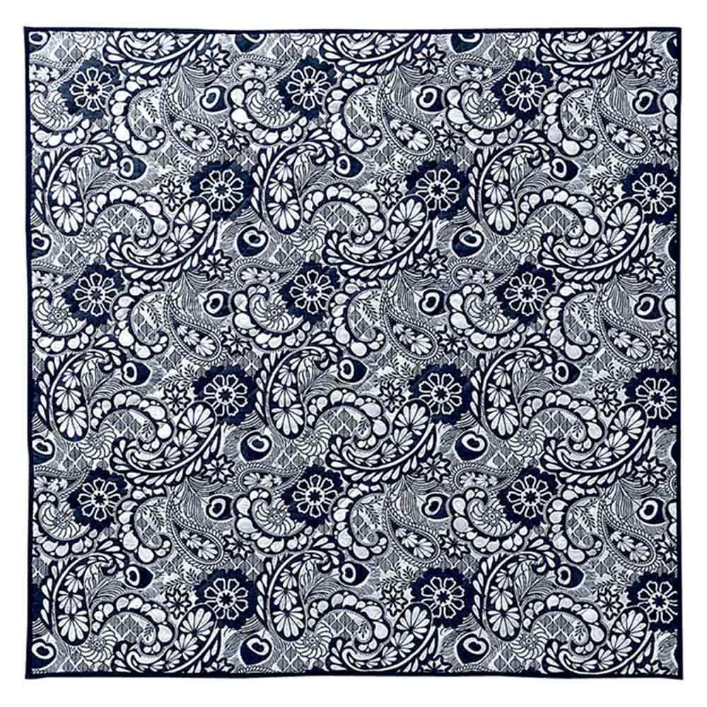 Hanna Werning(ハンナ ヴェルニング)キルトラグ (イ)ペイズリーパーク ※写真は約190×190cmです。