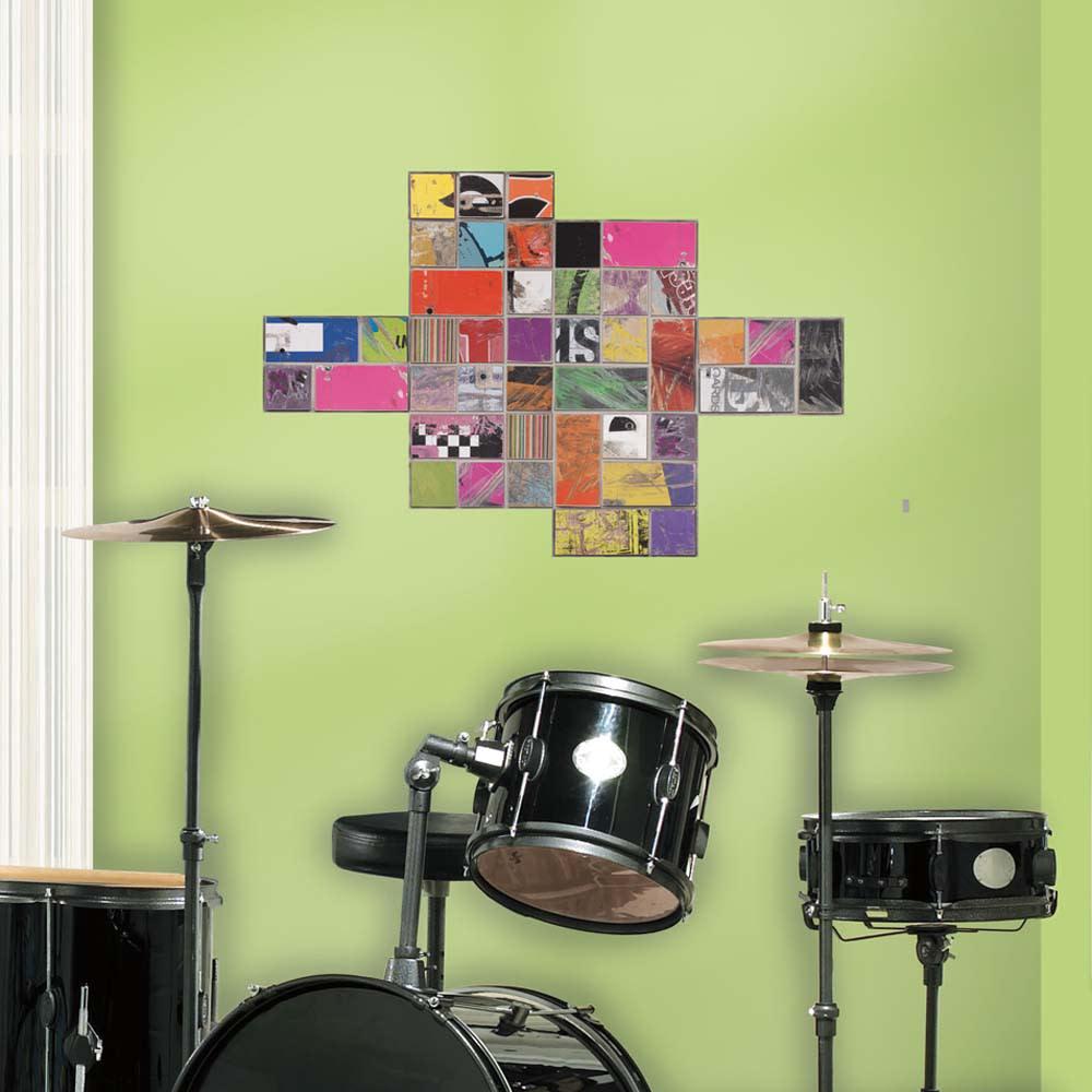 壁用ステッカー「アートオブボード スクエア」
