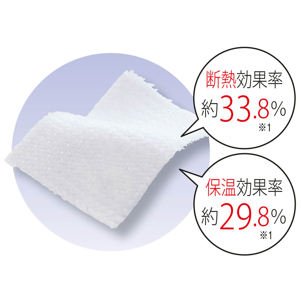 新ウェーブロン(R)使用レースカーテン(2枚組) ※1 (一財)日本繊維製品品質技術センター調べ(生地試験データ)
