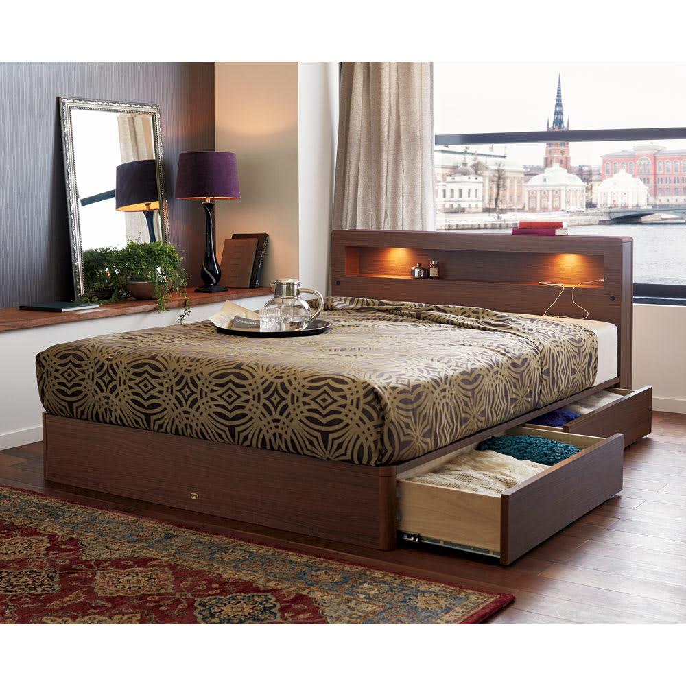 Beata ビアータ ホテル仕様ジャカード織ベッドスプレッド [コーディネート例]ゴールド ※お届けはベッドスプレッドです。