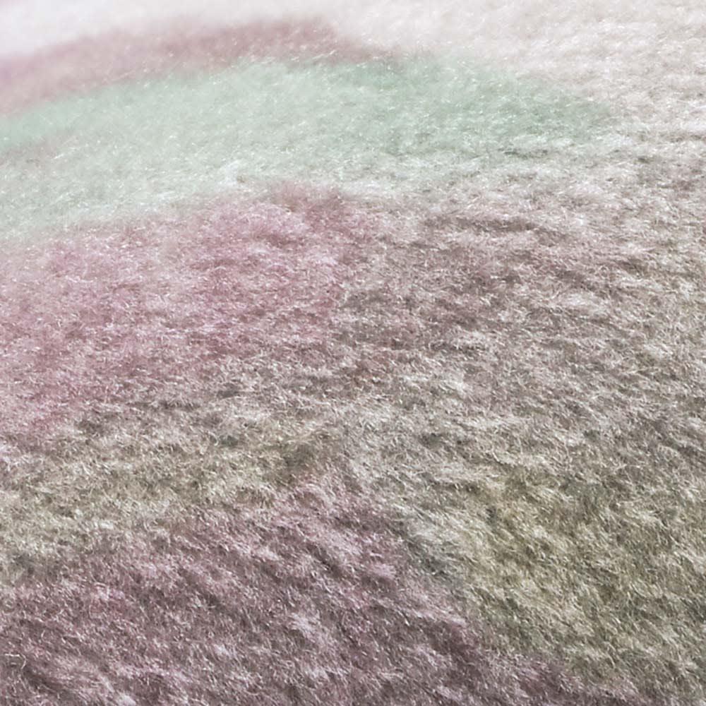 ルーゲル1級遮光遮熱カーテン 2枚組 [生地アップ]ベロア調の起毛生地