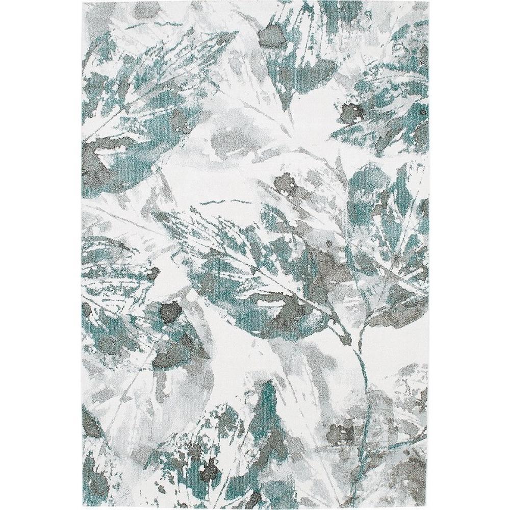 Leafy/リーフィー ウィルトン織ラグ (ア)グリーン