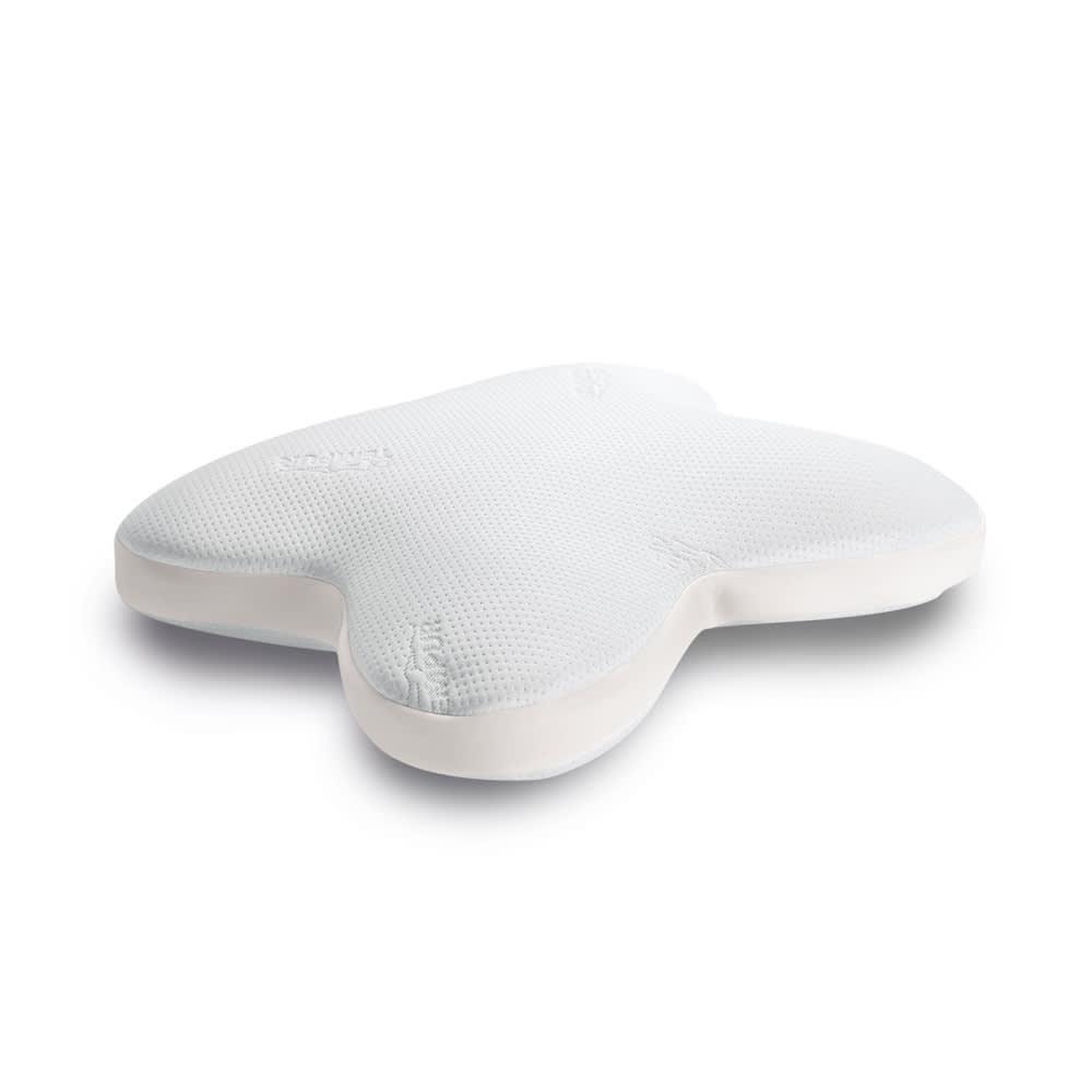 テンピュール(R) オンブラシオピロー カバーは空気の出入りを妨げないメッシュ。洗濯後の乾きもスピーディ。