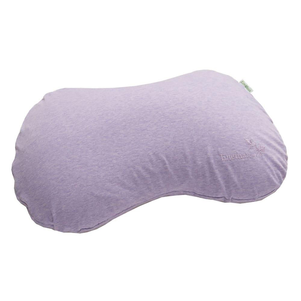 エネタンピローフェミニン(枕カバー付き) カバーにはオーガニックコットンを使用。肌になじみやすいやわらかな感触です。