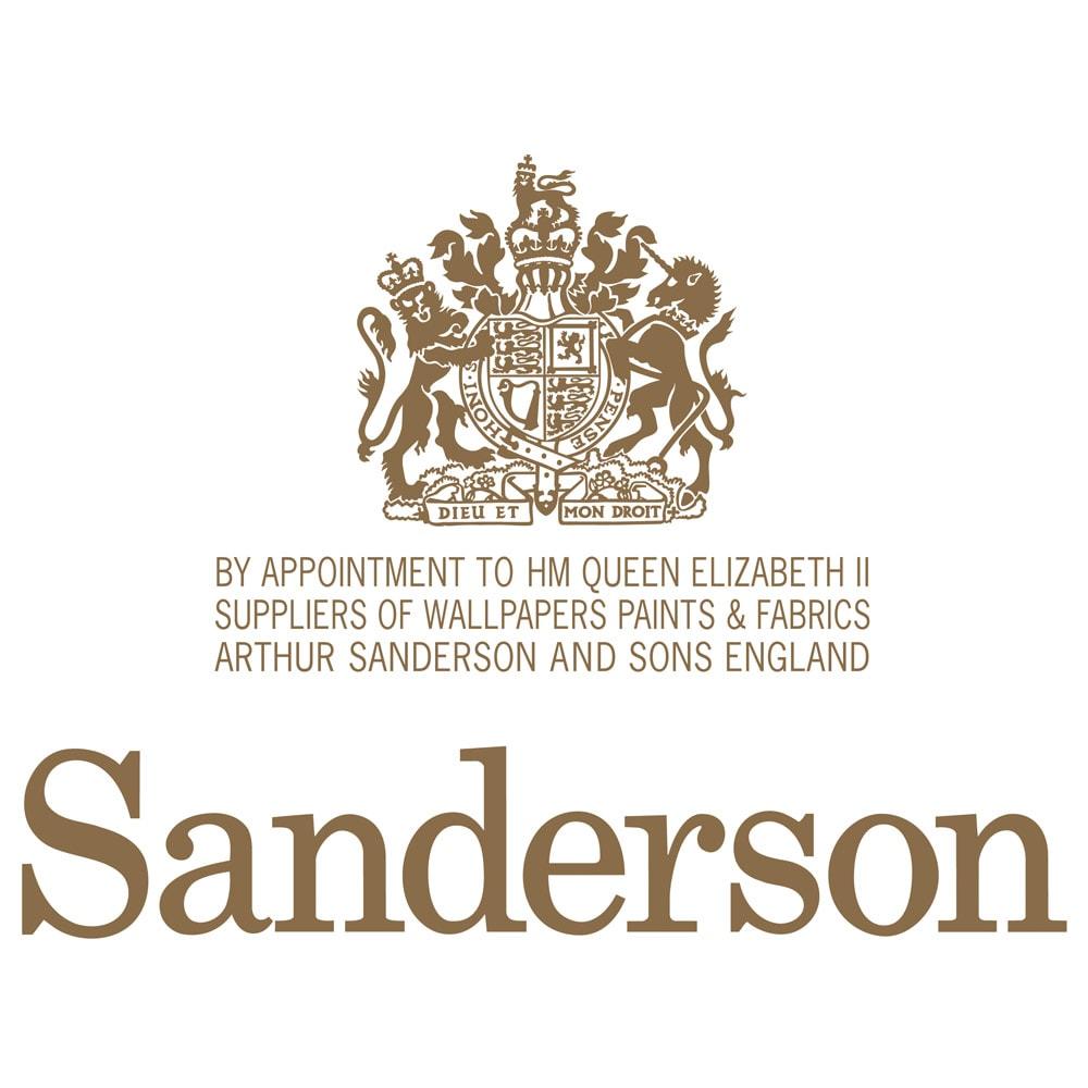 【西川産業(東京西川)】Sanderson/サンダーソン サテン掛けカバー 英国王室御用達ブランド「サンダーソン」