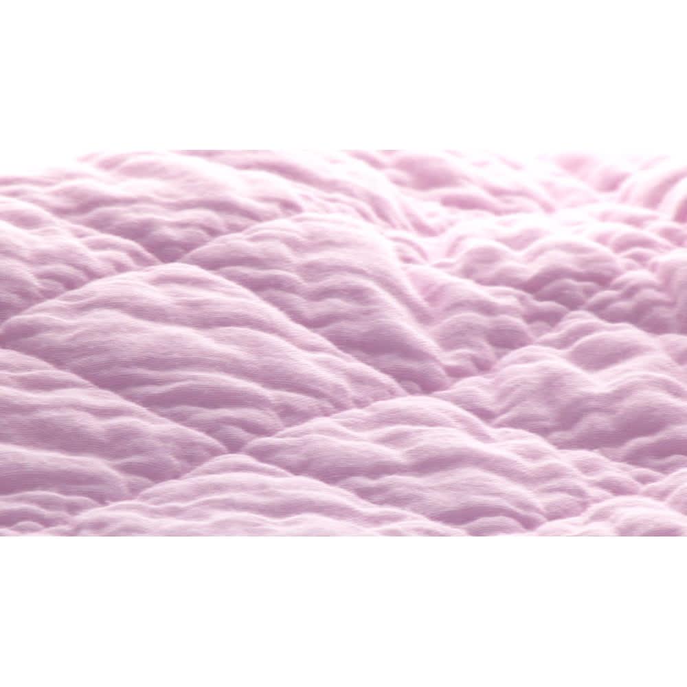 パシーマ ミルフィーユケット 【WEB限定モデル】 生地アップ(洗濯10回後)